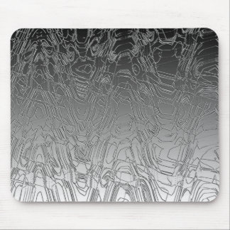 Etched Chrome Mouse Pad