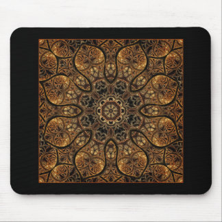 Etched Mandala Mouse Pad