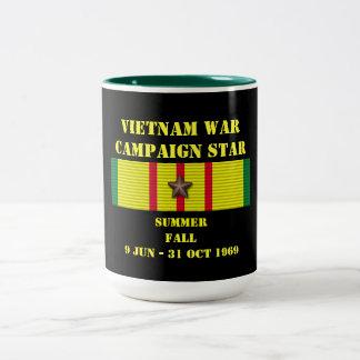 Été - campagne d'automne/1969 mug bicolore