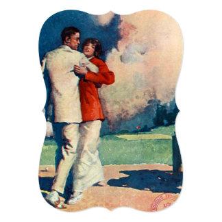 Été SUPÉRIEUR de tango Carton D'invitation 12,7 Cm X 17,78 Cm