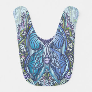 Eternal birth, new age, bohemian bib