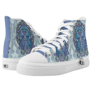 Eternal birth, new age, bohemian high tops