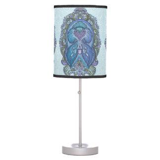 Eternal birth, new age, bohemian table lamp