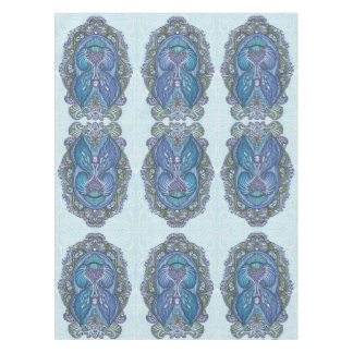 Eternal birth, new age, bohemian tablecloth