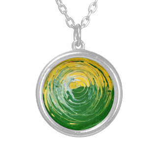 Eternal Circle 3 Silver Plated Necklace
