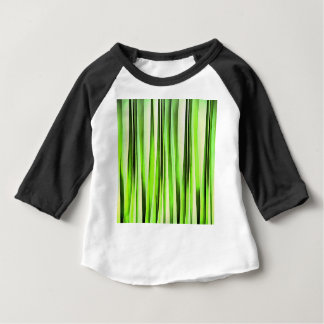 Eternal Evergreen Stripy Pattern Baby T-Shirt