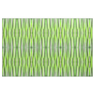 Eternal Evergreen Stripy Pattern Fabric