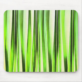 Eternal Evergreen Stripy Pattern Mouse Pad
