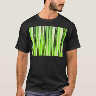 Eternal Evergreen Stripy Pattern T-Shirt