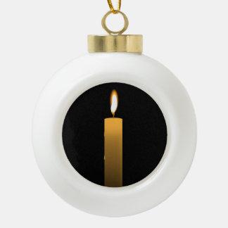 Eternal Flame Ceramic Ball Ornament