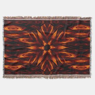 Eternal Flame Flowers 11 SDL Throw Blanket