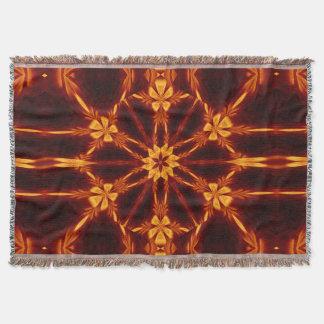 Eternal Flame Flowers 13 SDL Throw Blanket