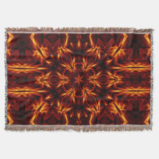 Eternal Flame Flowers 16 SDL Throw Blanket