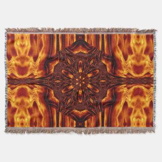 Eternal Flame Flowers 23 SDL Throw Blanket
