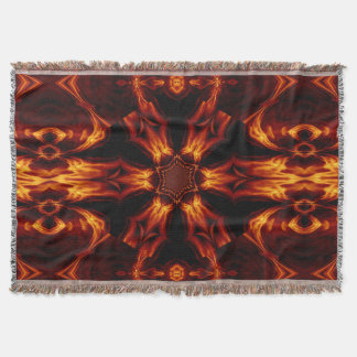 Eternal Flame Flowers 2 SDL Throw Blanket