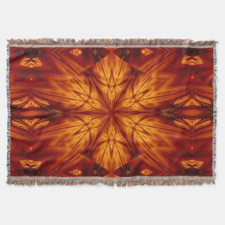 Eternal Flame Flowers 34 SDL Throw Blanket