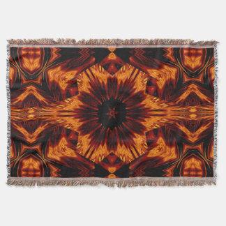 Eternal Flame Flowers 73 SDL Throw Blanket