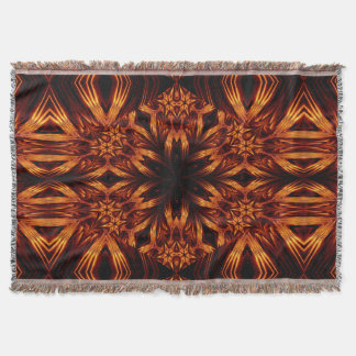 Eternal Flame Flowers 7 SDL Throw Blanket