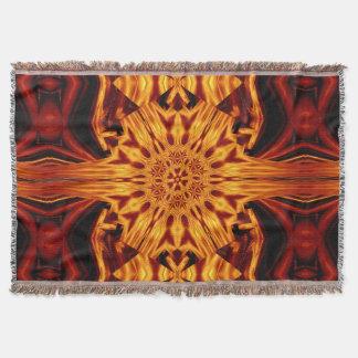 Eternal Flame Flowers 87 SDL Throw Blanket