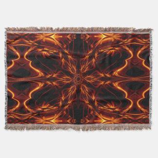 Eternal Flame Flowers 8 SDL Throw Blanket