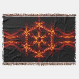 Eternal Flame Flowers 95 SDL Throw Blanket