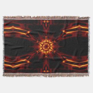 Eternal Flame Flowers 9 SDL Throw Blanket