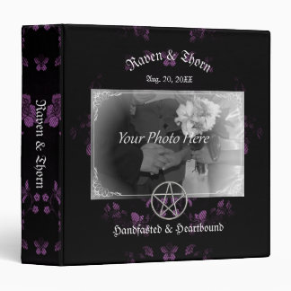 Eternal Handfasting/Wedding Pentacle Lavender Ste Binders