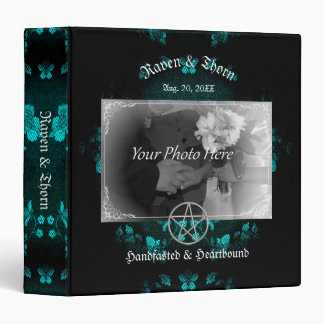 Eternal Handfasting/Wedding Pentacle Turquoise Ste Binder