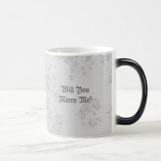 Eternal Handfasting/Wedding Suite White & Gray Morphing Mug
