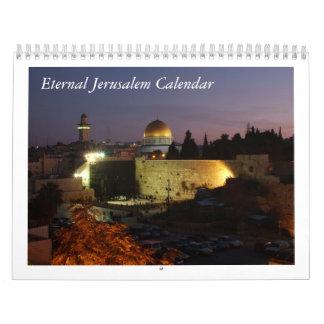 Eternal Jerusalem Calendar