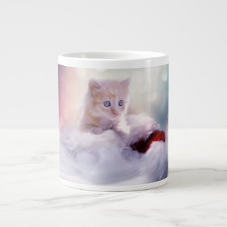 Eternal Kitty Love Large Coffee Mug
