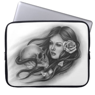 Eternal Love Day of the Dead Laptop Sleeve