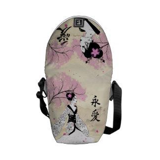 Eternal Love Design Courier Bags