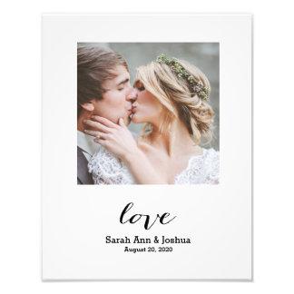 Eternal Love | Personalized Wedding Photo Print