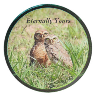 Eternally Yours Owl Collection Plate