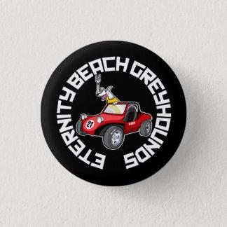 Eternity Beach Greyhounds 1 Inch Round Button