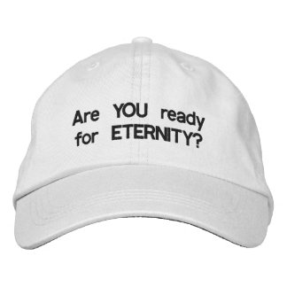 Eternity cap embroidered hats
