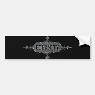 Eternity concept. bumper sticker
