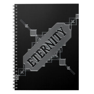 Eternity concept. notebook
