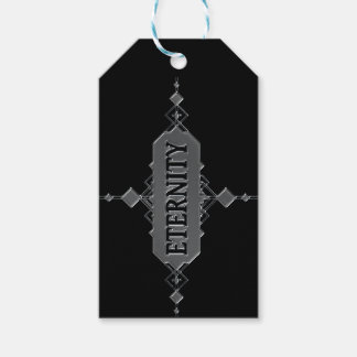 Eternity concept. pack of gift tags