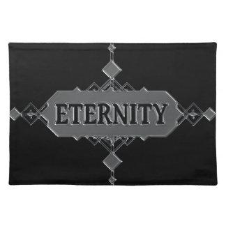 Eternity concept. placemat