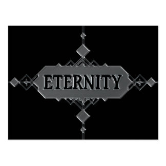 Eternity concept. postcard