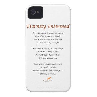Eternity Entwined Poem iPhone 4 Case
