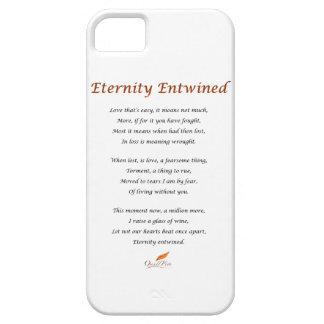 Eternity Entwined Poem iPhone 5 Case