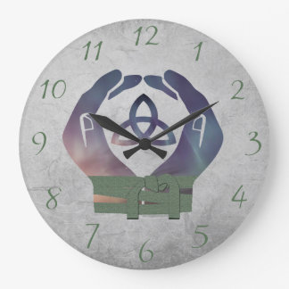 Eternity Handfasting Clock for Pagan Newly Weds