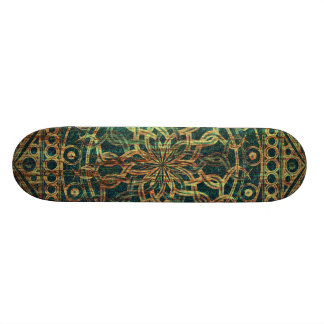 Eternity Mandala Weathered Skate Deck