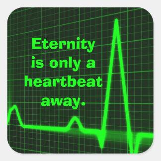 Eternity Square Sticker