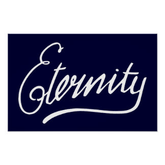Eternity Sydney Graffiti Poster
