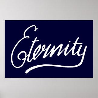 Eternity Sydney Graffiti Poster