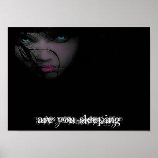 êtes vous dormant affiche